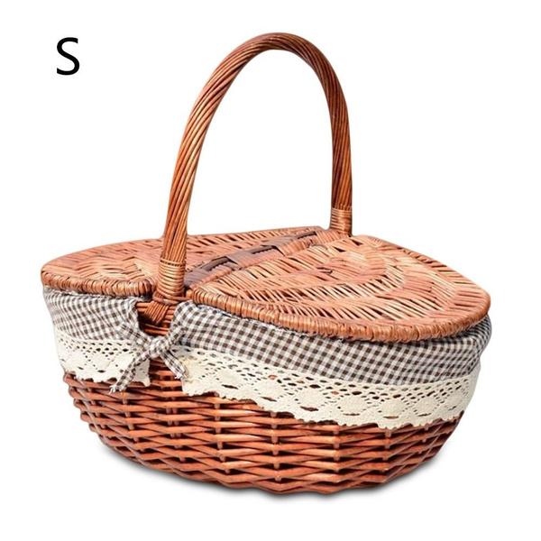 Picnic, Baskets, camping, storagebasket