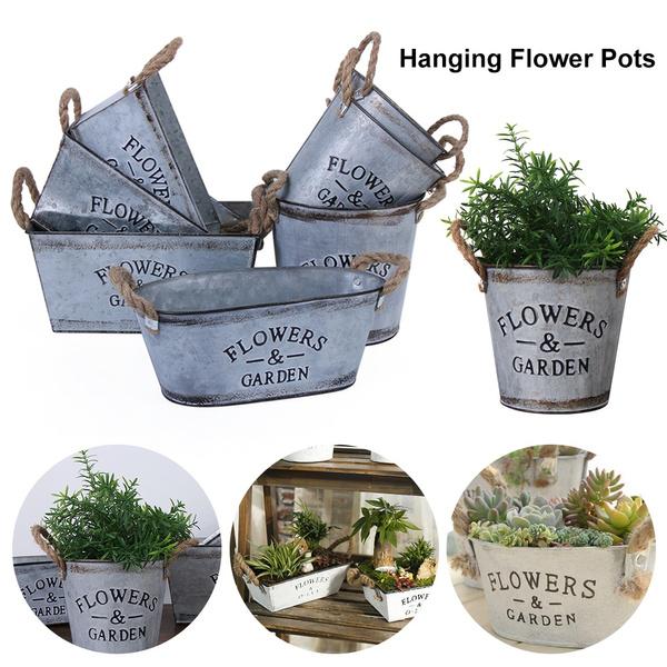hangingflowerpot, Flowers, balconyplanter, Garden