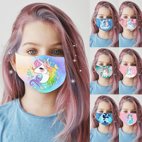 cartoonmask, Baby Girl, Fashion, mouthmask
