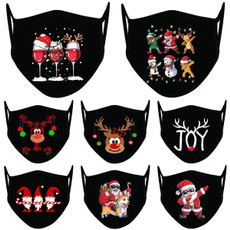 cute, festivalmask, Christmas, warmwindproof