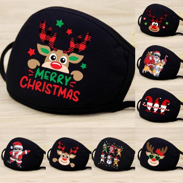 cute, festivalmask, Christmas, warmwindproof