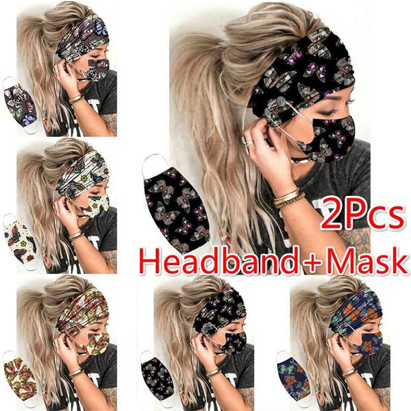 butterfly, headbandandmask, facemaskholder, Beauty