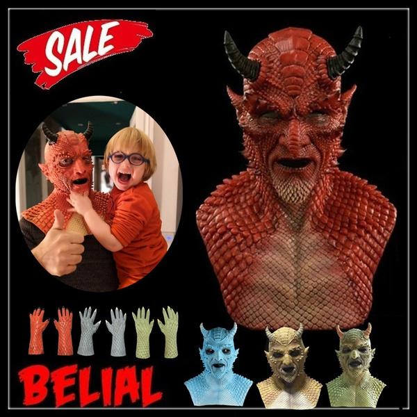 Demon, scary, belialmask, Cosplay