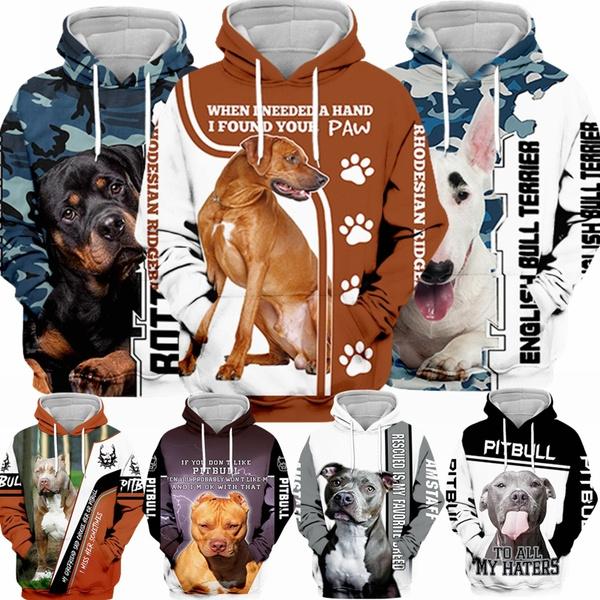 Couple Hoodies, rottweiler, Plus Size, Sleeve