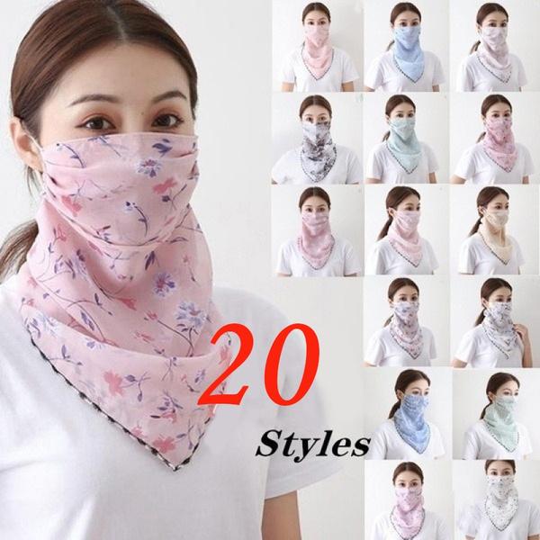 neckscarf, magicscarf, silkmask, chiffon scarf