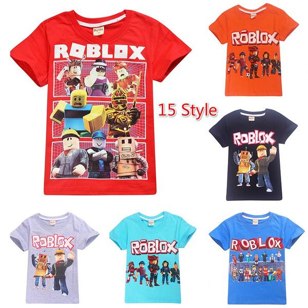 roblox, Summer, Short Sleeve T-Shirt, Shirt