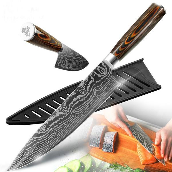 Steel, Kitchen & Dining, Laser, knivesknifeset