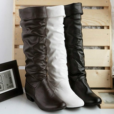 Fashion, long boots, Womens Shoes, cottonboot