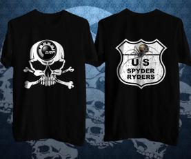 Spyder, Shorts, Shirt, skull