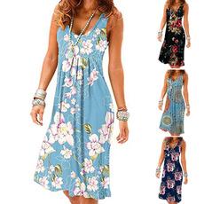 Holiday, Vest, dressesforwomen, Floral print
