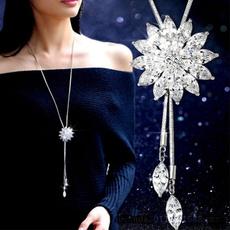 Beautiful, Flowers, Jewelry, Chain