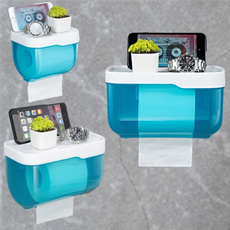Box, Bathroom, Towels, tissueholder