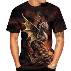 mensdragontshirt, dragonprinttshirt, 3dmentshirt, Shirt