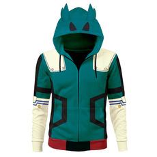 myheroacademia, Cosplay, Zip, sweater coat
