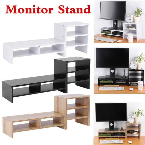 monitorstand, monitormountsstand, computermonitorriser, computerstandstorage