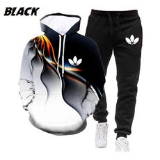 3D hoodies, Moda, unisex clothing, pants