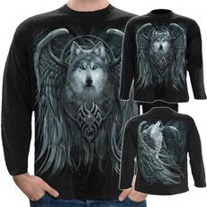 Goth, Fashion, Long Sleeve, mens tees