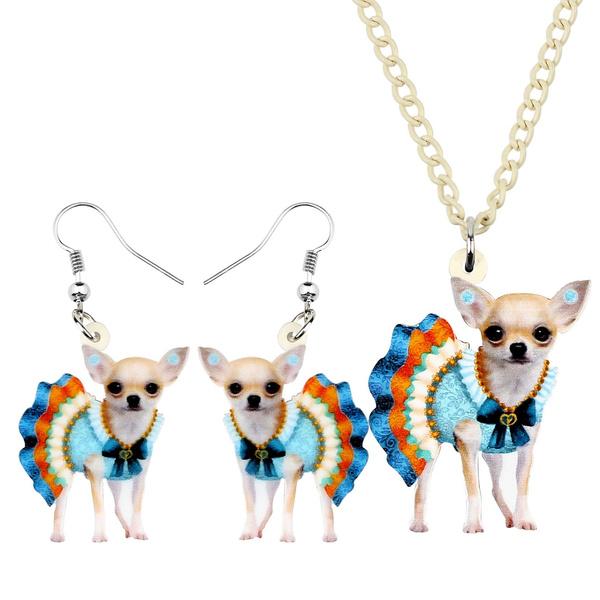 Dress, jewelrysetsdecoration, Dogs, decoration