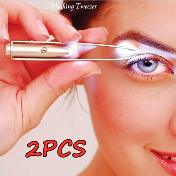 led, eyebrowhairtrimmer, Beauty, eyebrowsrepairtool