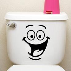 Funny, Bathroom, art, toiletentrancesignwallsticker