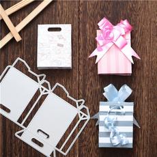 Box, stencilstemplate, Scrapbooking, paperboxstencil