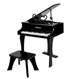 pretenddressup, Piano, Toy, black