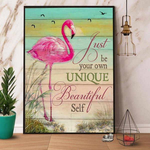 Beautiful, Decor, flamingo, Posters