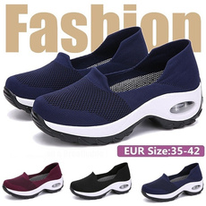 casual shoes, wedge, Sneakers, Slip-On