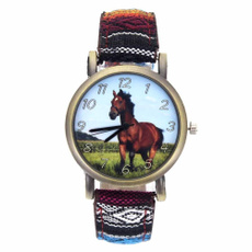 horse, Moda, Cloth, wristwatch