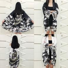 yukata, womenbathrobe, Fashion, longoutwear