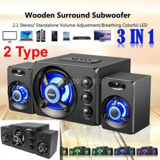 stereospeaker, lights, Wireless Speakers, Bass