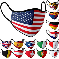 nationalflagprint, unisex, unisexmask, mouthmask