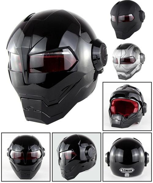 Helmet, motorcycle helmet, Bright, black