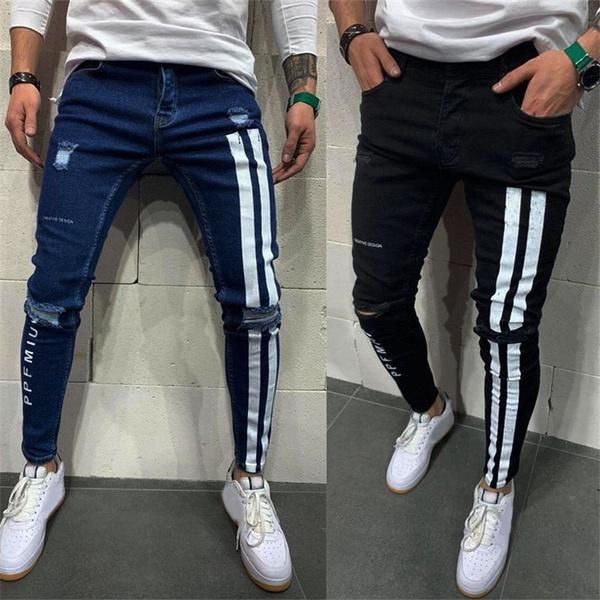 stripedjean, men's jeans, street style, men jeans