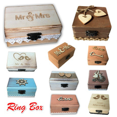 Box, Jewelry, Wooden, Engagement Ring