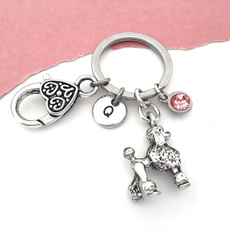 Key Chain, poodlekeychain, Chain, initialkeyring