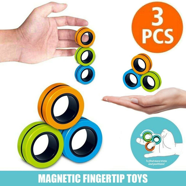 Toy, Jewelry, Magnetic, spinner