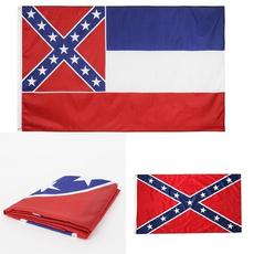 Polyester, oldstateflag, confederateflag, gardenflag