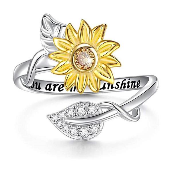 christmasgiftring, Jewelry, Sunflowers, sunshine