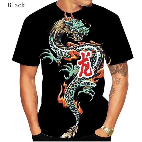 Fun, Fashion, 3dcooldragonshirt, Personalized T-shirt