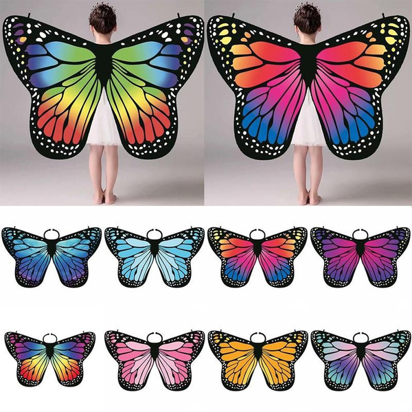 butterfly, Scarves, pixiecostumeaccessory, butterflypixiecostume