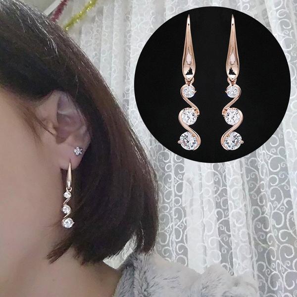 Crystal, Jewelry, Stud Earring, women earrings