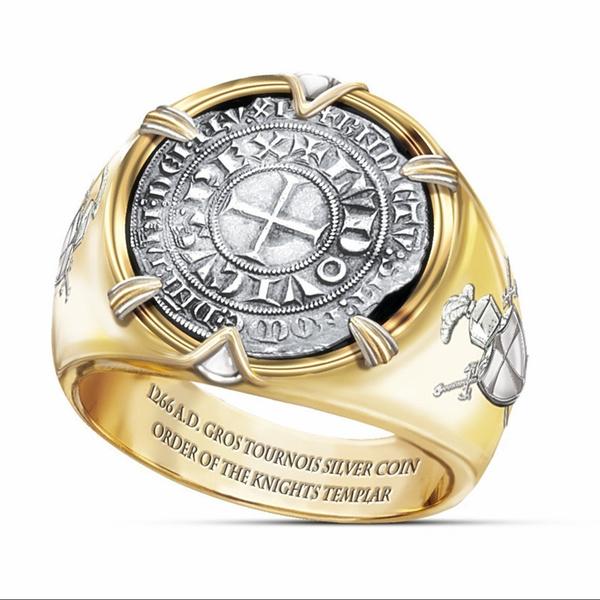 Sterling, 18k gold, 925 sterling silver, wedding ring