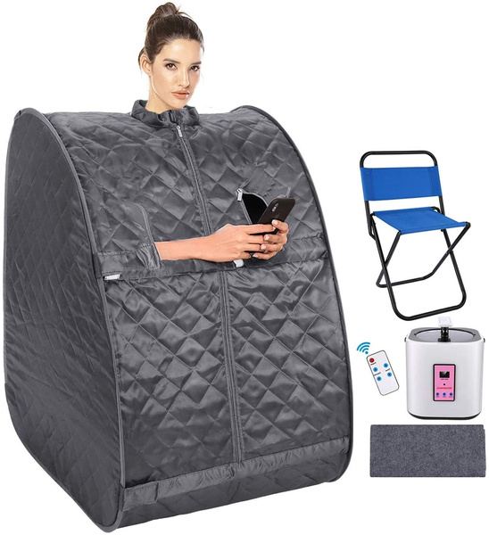 saunatent, Remote, Sports & Outdoors, steamsauna