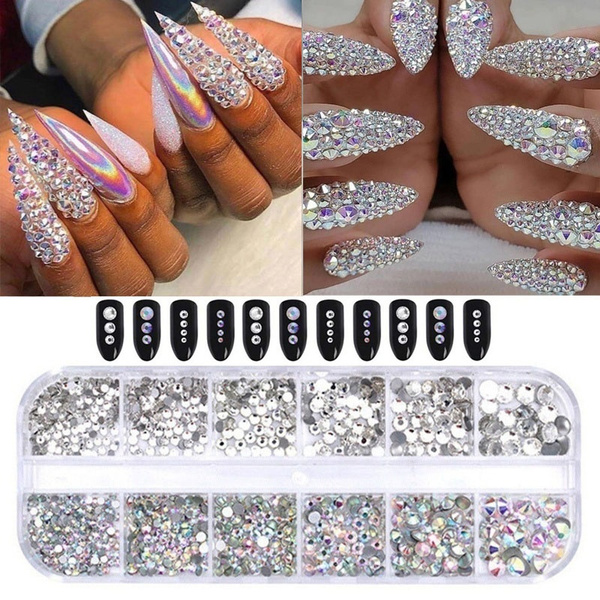 DIAMOND, Beauty tools, 3dnailrhinestone, Beauty