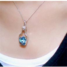 clavicle  chain, Fashion, Love, Jewelry