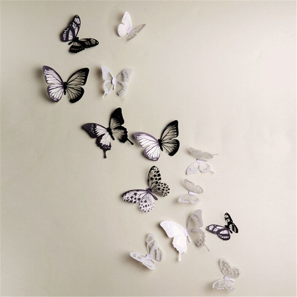butterfly, decorationspaper, Decor, Wall Decal