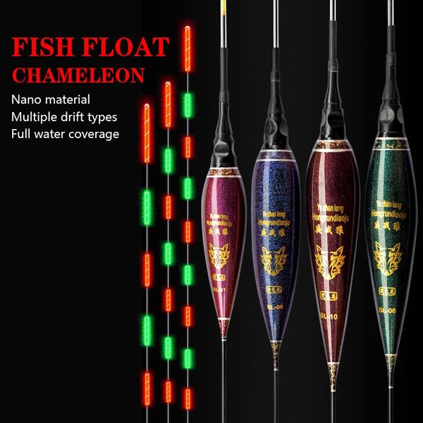 led, fishingfloat, lights, button