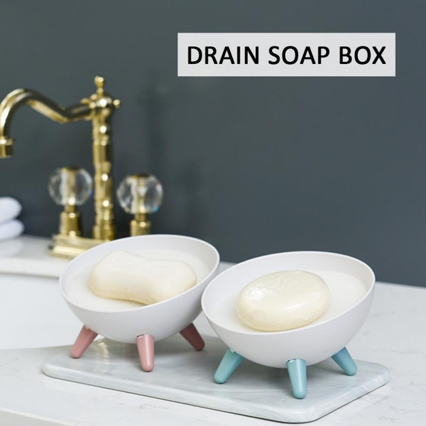 drainsoaprack, cute, drainsoapholder, Bathroom Accessories