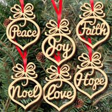 Christmas, christmaspendant, Wooden, Pendant